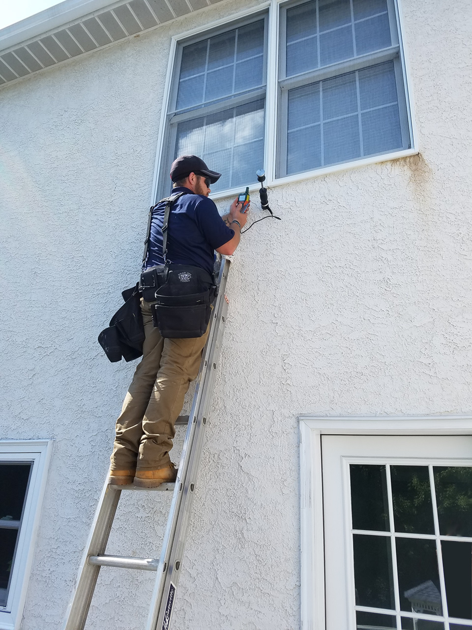 Stucco Inspection EDI Certified Stucco Inspectors in PA Stucco Remediation Stucco Safe Testing Southeast Pennsylvania PA